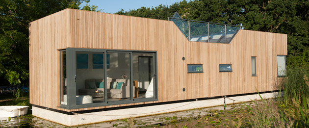 The chichester Prototype Floating Home